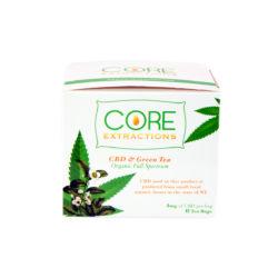 organic cbd infused green tea